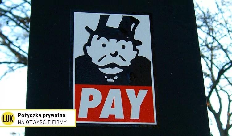 pożyczka prywatna na otwarcie firmy