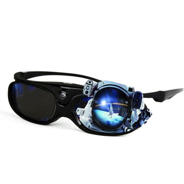 Dlp Link 3d Glasses 144 Hz Ultra-clear Hd Active Rechargeable Shutter