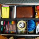 De inhoud van de koffer: spullen voor de facilitator