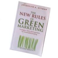 "Afbeelding van het boek ""The New Rules of Green Marketing"" van Jacqyelyn Ottman"