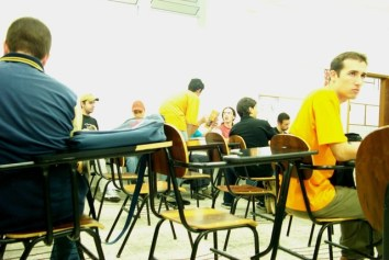 De klas van Thiago Martins, coppyright foto: Thiago Martins