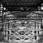 Ijzeren brug, 19e eeuw. Copyright foto: Kristin Smith
