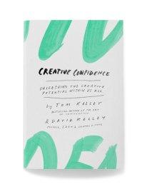 """Het boek """"Creative Confidence"""" door david en Tom Kelley"""