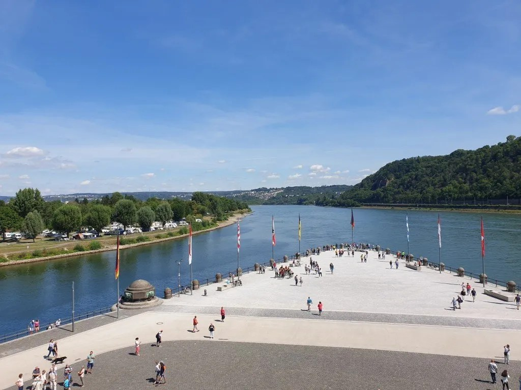 Stedentrips dichtbij huis: Koblenz