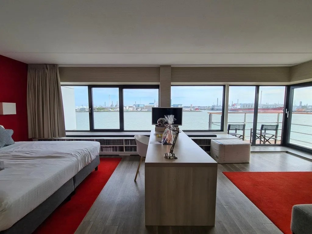 Delta hotel Vlaardingen: kapitein suite