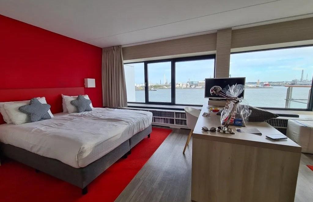 Delta hotel Vlaardingen: slapen aan de Nieuwe Maas