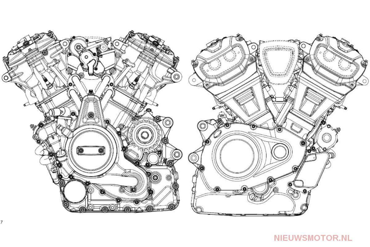 Harley Davidson Onthult Watergekoelde 60 Graden V Twin