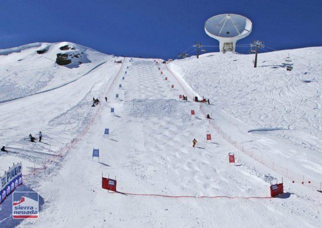 La FIS constata también las mejoras en la pista Visera, ahora más amplia, inclinada y versátil FOTO: Sierra Nevada