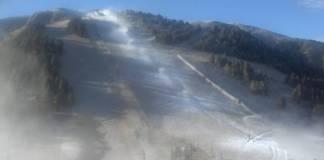 Las estaciones podrían comenzar a fabricar nieve en breve