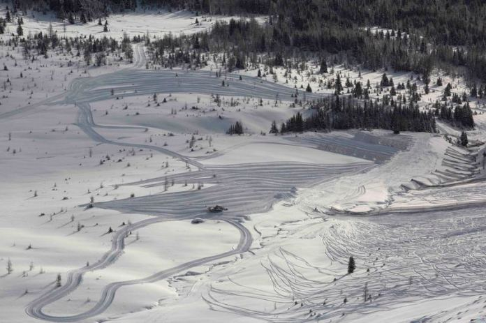 Lake Louise podrá organizar las pruebas femeninas de velocidad FOTO: www.skilouise.com