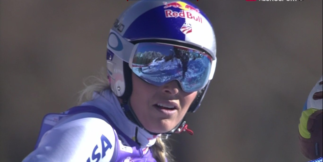 Lindsey Vonn desvela al diario L'Equipe cómo afronta la competición y de dónde le viene su afán competitivo FOTO: Eurosport