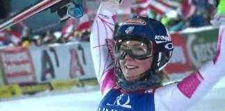 Mikaela Shiffrin prefiere centrarse en el slalom y gigante del Mundial y ha renunciado al super G y la combinada FOTO: Eurosport