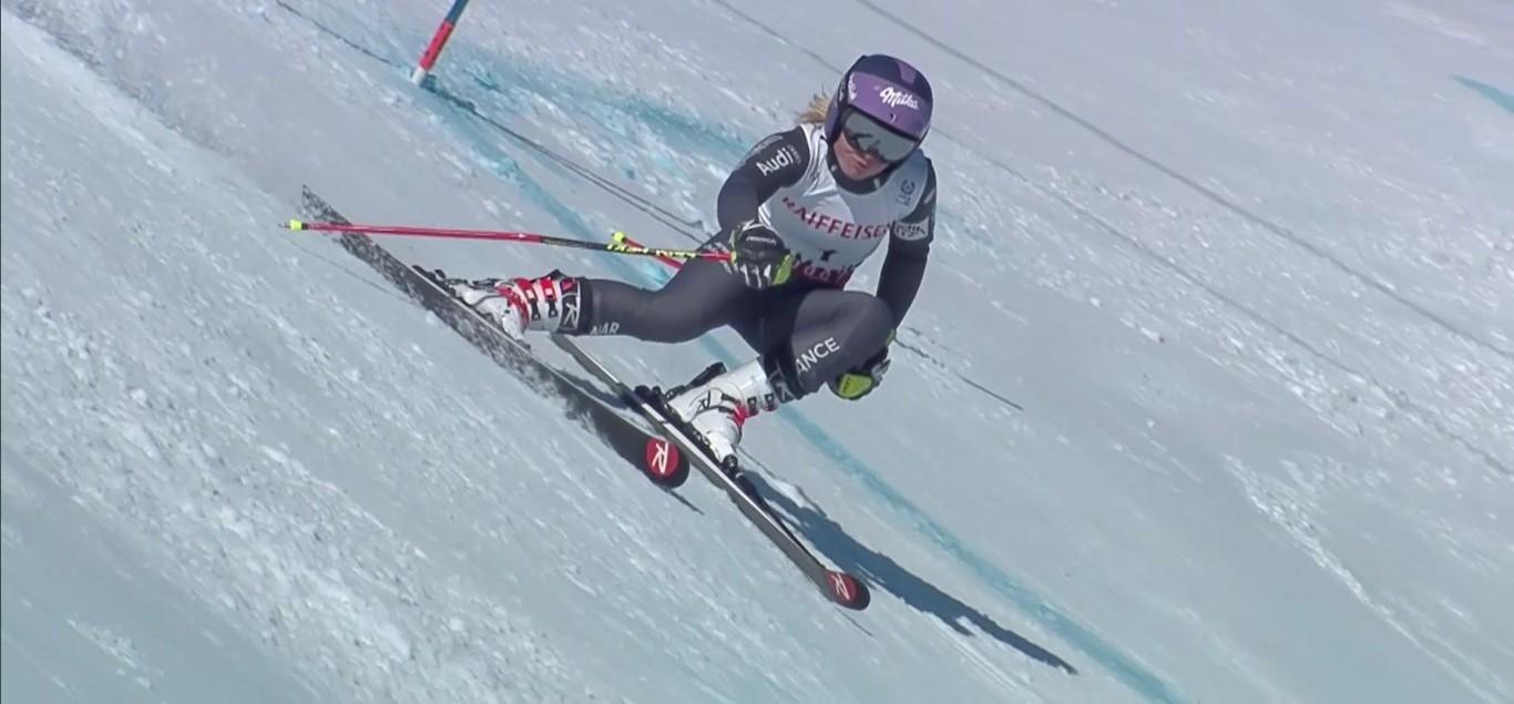 Tessa Worley es la nueva campeona del mundo de gigante, título que ya logró hace cuatro años en Schladming FOTO: Eurosport