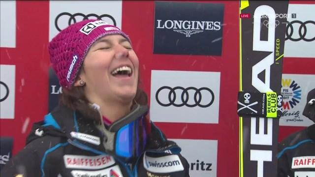 Wendy Holdener, oro en combinada y plata en slalom, la gran triunfadora junto a Shiffrin FOTO: Eurosport