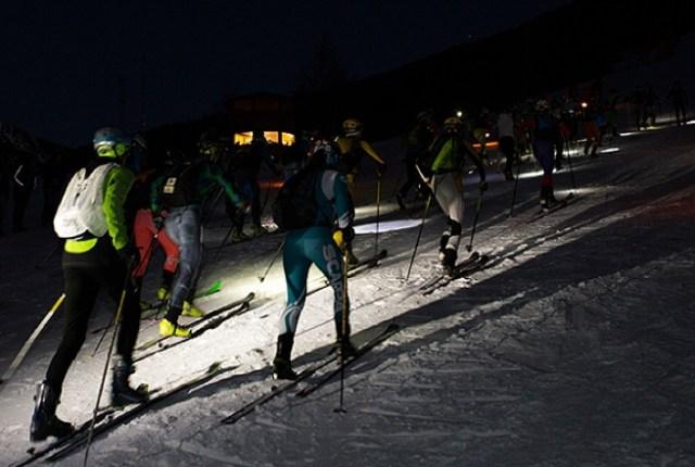 La cronoescalada nocturna en la pista l'Àliga hará las delicias a los amantes del esquí de montaña