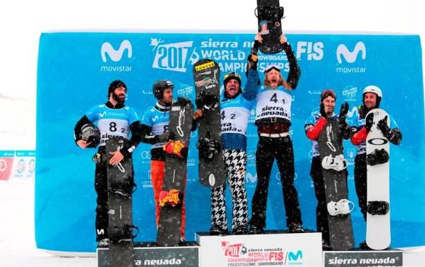 El podio ha sido completado por el equipo estadounidense, oro, y Canadá plata