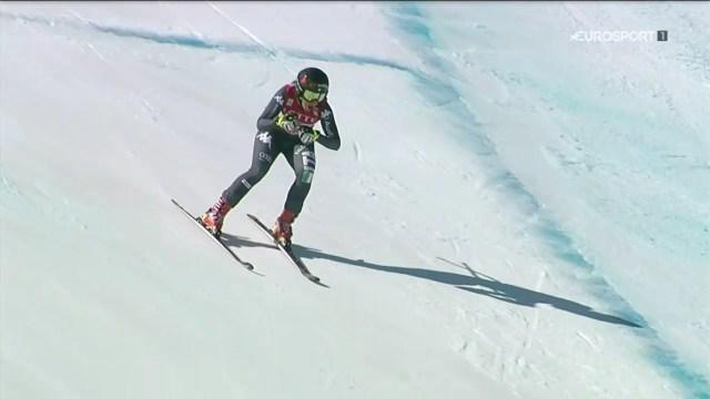 Goggia ha sido la que mejor ha sabido interpretar un descenso muy complicado y que requería una actitud atacante FOTO: Eurosport