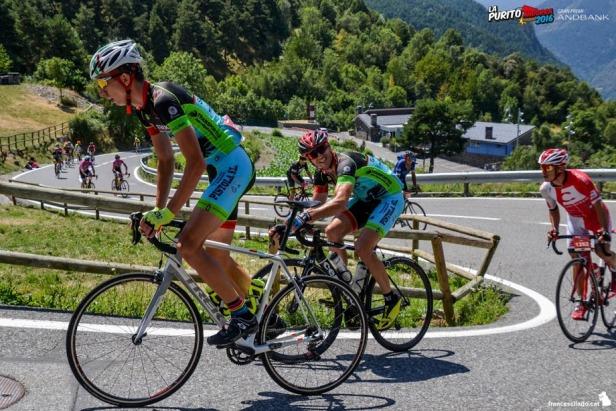 Imágenes de la Purito 2016 por los mejores parajes de Andorra