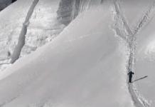 Kilian Jornet en plena subida rumbo al Everest