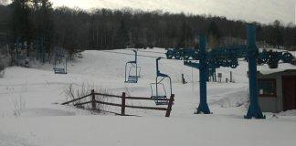 Una vista de la estación Maple Valley en Vermont