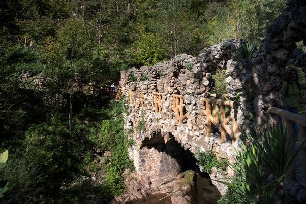 Jardins Artiga, naturaleza soberbia a ambos lados del río Llobregat