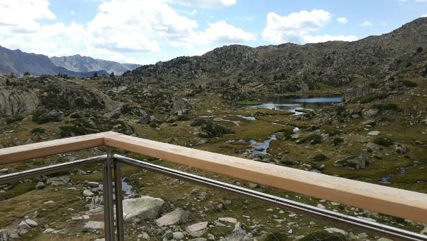 Las vistas desde la terraza denotan paz y tranquilidad