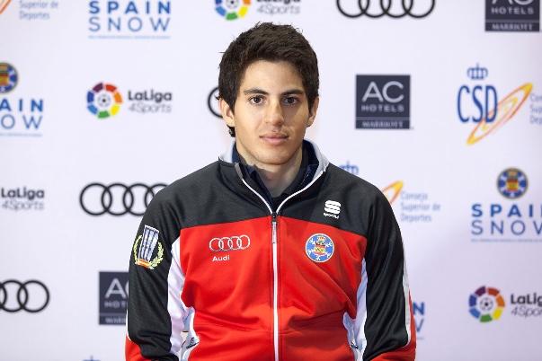 Martí Vigo es miembro del equipo de esquí de fondo de la RFEDI