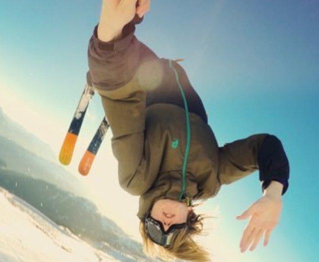 El suizo Andri Ragettli muestra su irreverente entrenamiento, que sólo él puEde llevar a cabo