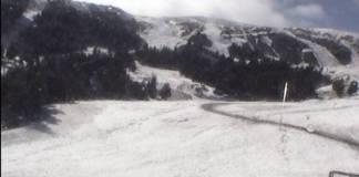 Nevazo en el Pallars tal y como muestra Port Ainé