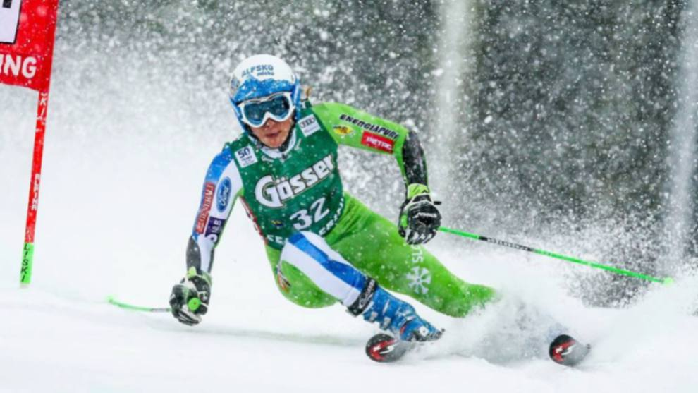 Ilka Stuhec cursará baja en la apertura de la Copa del Mundo en Solden