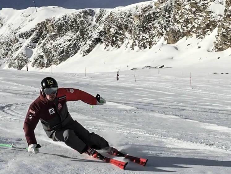Marcel retoma con muy buenas sensaciones los entrenamientos sobre la nieve