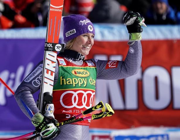 Tessa Worley, segunda por detrás de Viktoria Rebensburg