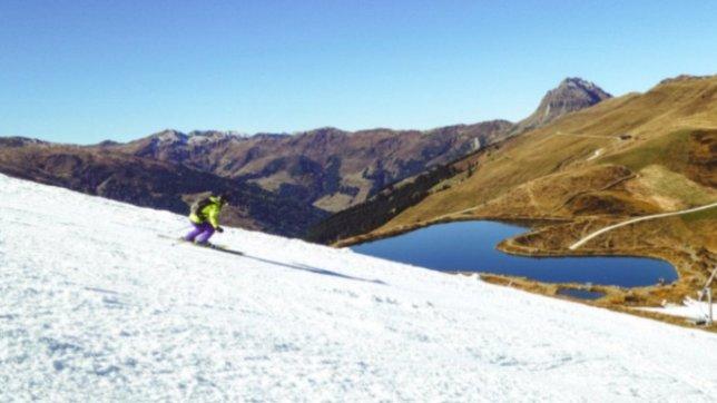 Kitzbühel ha dado el pistoletazo de salida a la temporada invernal en pleno otoño