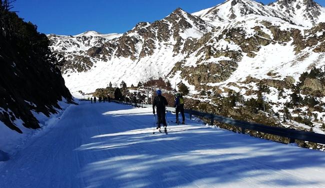 La coma de arcalís, uno de los puntos neurálgicos del esquí de montaña