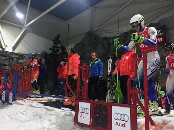 La Copa España Audi arranca este domingo en el Madrid SnowZone con la disputa de un paralelo FOTO: RFEDI Spainsnow