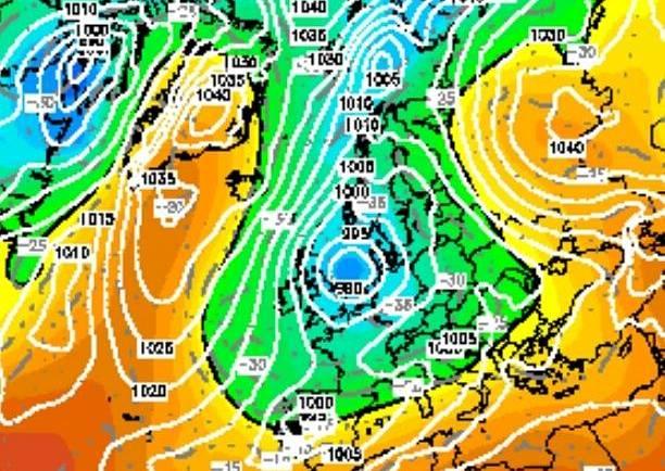 El tiempo podría dar un vuelco de 180º de cara a la semana próxima con frío y nieve