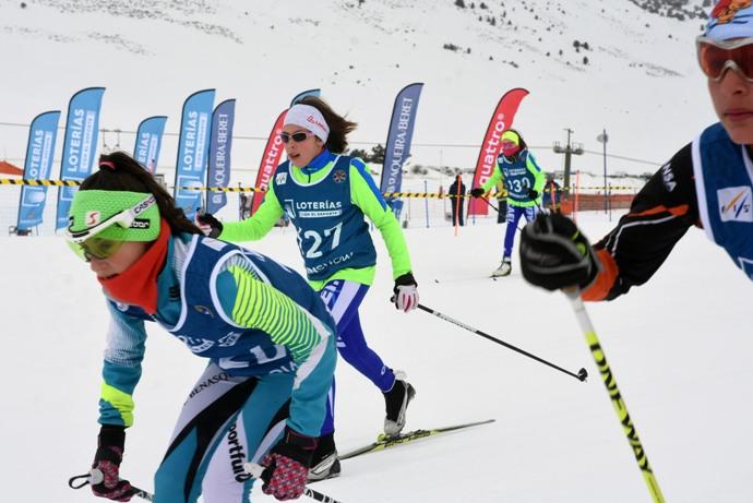El pla de Beret ha acogido el fin de semana la Copa de España de Esquí de Fondo con la Naut Aran Skating