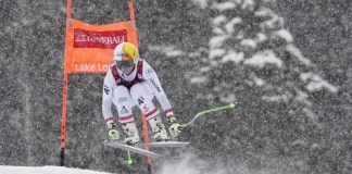 Cornelia Huetter ha vuelto a lo grande a la competición tras un año inactiva y ha ganado el descenso de Lake Louise