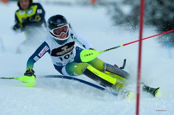 Nuria Pau se va de La Molina tras ganar los dos slaloms del Memorial Albert Pardo FOTO: Toni Grases @photoset.es