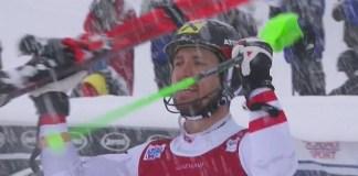 Una segunda bajada portentosa le ha dado la victoria a Marcel Hirscher en el slalom de Val d'Isère