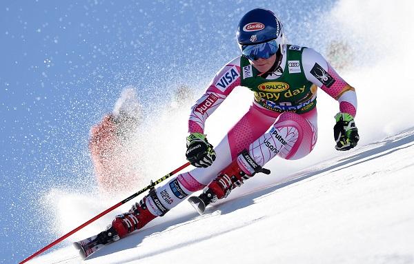 Mikaela Shiffrin aspira no sólo a revalidar su título olímpico en los Juegos de Pyeongchang de febrero, sino que quiere subir más veces al podio