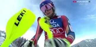 Mikaela Shiffrin ha cimentado su victoria en el slalom de Lienz en una primera manga impecable