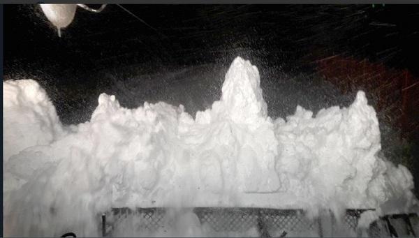 Las intensas nevadas han obligado a anular el descenso femenino de la Copa del Mundo previsto en Val d'Isère para este sábado FOTO: @radiovaldisere