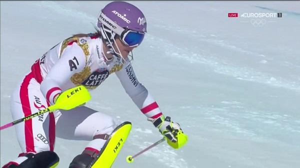 Michaela Kirchgasser se perderá los Juegos tras romperse el ligamento cruzado de la rodilla derecha