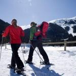 Excursiones sobre raquetas de nieve por circuitos marcados, otra de las ofertas de La Molina