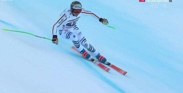 Thomas Dressen, ganador en Kitzbuehel hace una semana, ha finalizado séptimo