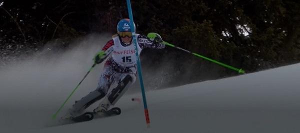 Veronika Velez Zuzulova ha vuelto a competir cuatro meses después de su grave lesión y ha sido la tercera más rápida en la segunda manga