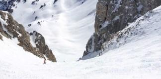 Uno de los itinerarios fuera pistas de la cara norte de las pistas del Pirineo de La Val d'Aran