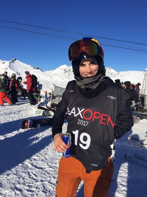Queralt Castellet también estará compitiendo en los próximos Juegos de Invierno