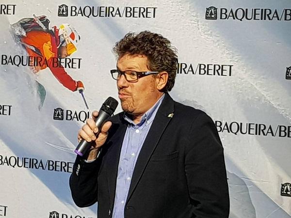 Xavier Ubeira, director comercial de Baqueira Beret, asegura que este proyecto no es una prioridad ni nadie ha ido a hablar con la estación